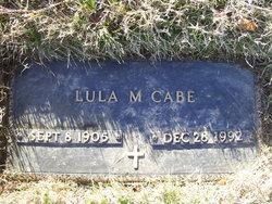 Lula M <i>Tilson</i> Cabe