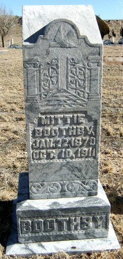 Mittie <i>Rogers</i> Boothby