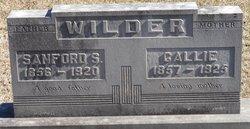 Sanford Samuel Wilder