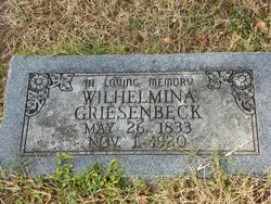 Wilhelmina <i>Kaltmann</i> Griesenbeck