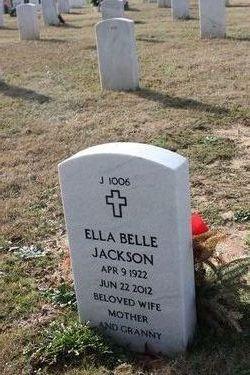 Ella Belle <i>Adams</i> Jackson