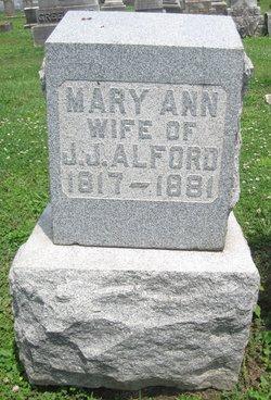 Mary Ann <i>Genung</i> Alford