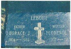 Horace Joseph LeBouf, Sr