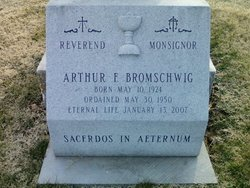 Rev Arthur F. Bromschwig