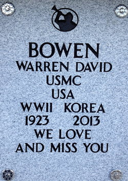 Warren David Bowen