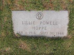 Lillie Grace <i>Powell</i> Hoppe