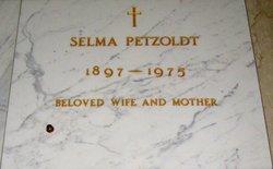Selma Martha <i>Fischer</i> Petzoldt