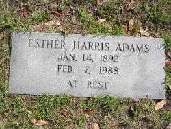 Esther <i>Harris</i> Adams