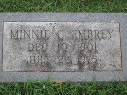 Minnie C. Embrey