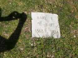 Mary E <i>Edison</i> DeHart