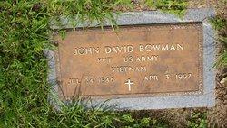 John David Bowman