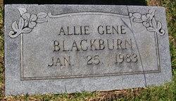 Allie Gene <i>Stringfellow</i> Blackburn