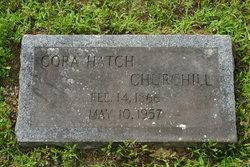 Cora <i>Hatch</i> Churchill