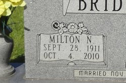 Milton N Bridges