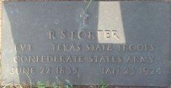 Raymond S Porter