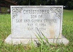 Christopher Criddle