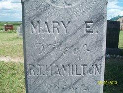 Mary E, <i>Kelly</i> Hamilton