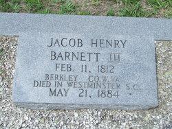 Jacob Henry Barnett, III