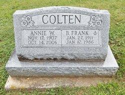 Annie B. <i>Walton</i> Colten