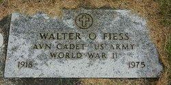 Walter O. Fiess
