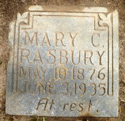 Mary C <i>Blanton</i> Rasbury