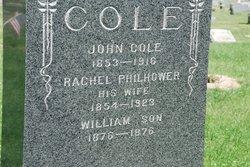 Rachel <i>Philhower</i> Cole