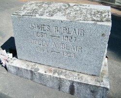 Julia A <i>Webb</i> Blair