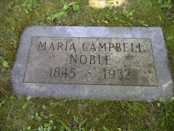 Maria <i>Campbell</i> Noble