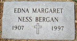 Edna Margaret <i>Ness</i> Bergan