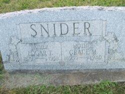 Edgar Teeter Snider