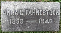 Anna C <i>Curry</i> Fahnestock