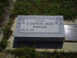 A Gertrude <i>Ross</i> Burnside
