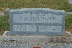 Viola May <i>McElroy</i> Thompson