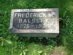 Frederick M Balsley