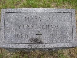 Mary Ann <i>Pilkington</i> Cunningham
