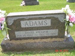 David William Adams