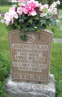 Annie <i>Wilton</i> Stiles