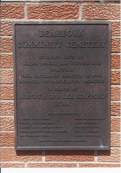 Dearborn Community Cemetery