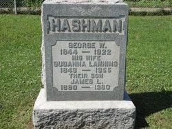 Susanna Susan <i>Lanning</i> Hashman