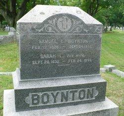 Sarah Leach <i>Merrill</i> Boynton