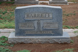 Lora Frances <i>Carwile</i> Barrett