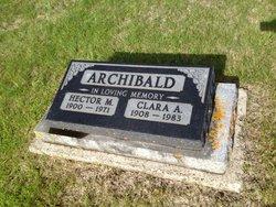 Clara Anna <i>Fredricks</i> Archibald