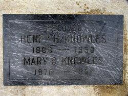 Mary <i>Greeley</i> Knowles