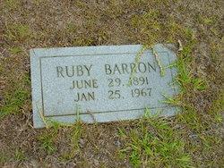 Ruby Barron