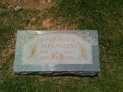 Lucile <i>Reeves</i> Alexander