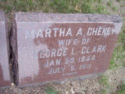 Martha A <i>Cheney</i> Clark