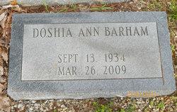 Doshia Ann Barham