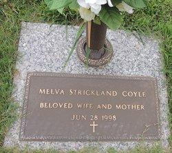 Melva <i>Strickland</i> Coyle