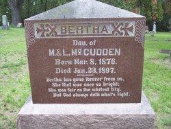 Bertha McCudden