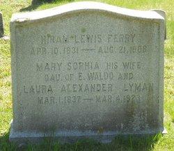 Mary Sophia <i>Lyman</i> Ferry